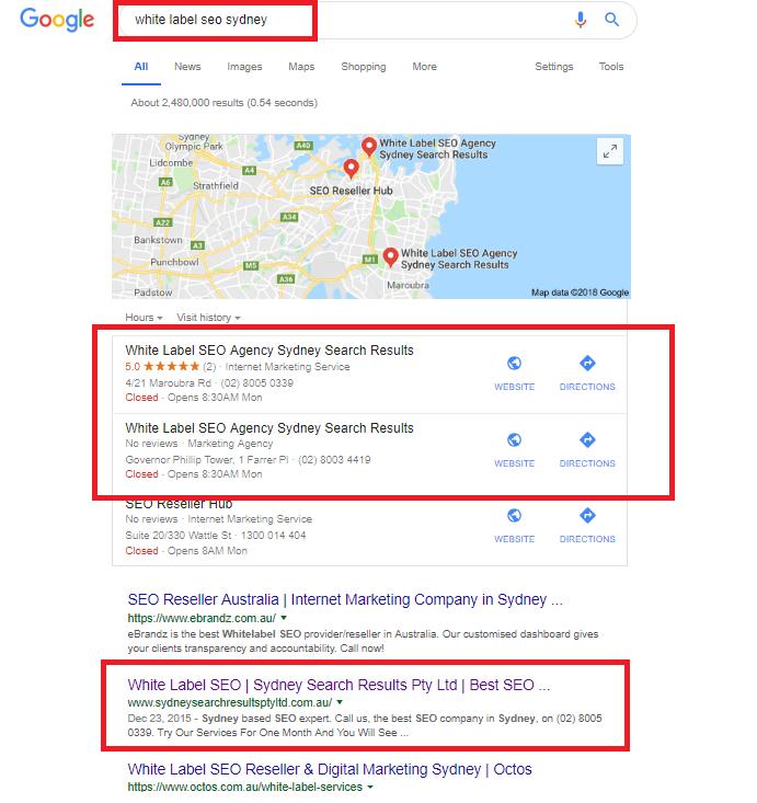 White Label SEO | Sydney Search Results Pty Ltd | Best SEO Marketing