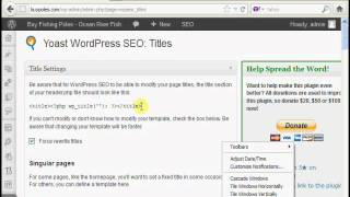 Over Optimisation Of Title Tags